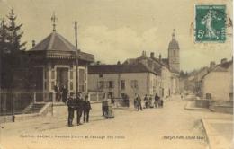 Port Sur Saone, Pavillon Petit Et Passage Des Ponts - France