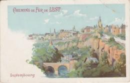19 / 11 / 149 -  CHEMINS DE FER DE L'EST  -  LUXEMBOURG. - Chemins De Fer