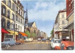 Boulogne Sur Seine - Avenue Jean Baptiste Clément  Edit Abeille Carte.  Voitures. Citroen DS Renault 4L Dauphine - Boulogne Billancourt