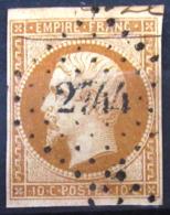 PC 2744 - ROULLET - CHARENTE INF. - INDICE 18 - Storia Postale (Francobolli Sciolti)