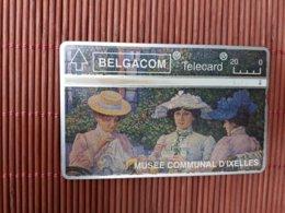 S 58 Phonecard Art D'Ixelles 303 C Used - Belgique