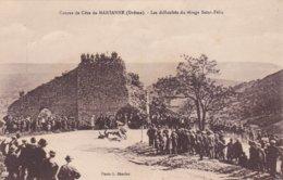 MARSANNE - Course De Côte - Les Difficultés Du Virage Saint Félix (Accident) - Francia