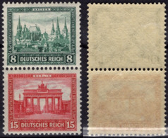 ALLEMAGNE DEUTSCHES REICH 430 431 **/* Bloc Du Carnet Heftchen Booklet : Aachen Berlin Brandebourg Avec Surtaxe - Neufs