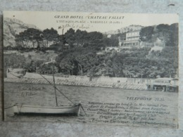 GRAND HOTEL CHATEAU FALLET          L' ESTAQUE PLAGE    MARSEILLE - L'Estaque