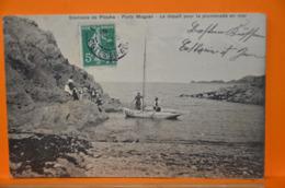 Environs De Plouha - Portz Moguer - Le Départ Pour La Promenade En Mer - Frankrijk