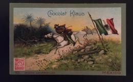 Mexique Facteur Poste   Chocolat Klaus Chromo Postes Universelles - Altri