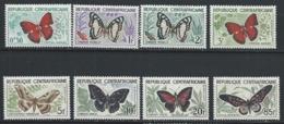 Centrafrique YT 4-11 XX / MNH Papillon Butterfly Animal Wildlife - Centrafricaine (République)