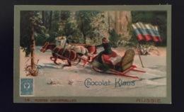 Russie Traîneau Facteur Poste   Chocolat Klaus Chromo Postes Universelles - Altri