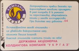 Telefonkarte Ukraine - Kiew - Werbung -  K61 07/97 - Ukraine
