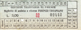 ** GESTIONE TRANVIARIA DI FIRENZE.-** - Tramways