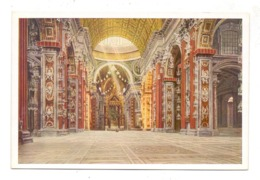 VATICAN - S. Pietro, Interno, Uvachrom # 6234, 192... - Vatikanstadt