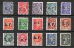 France Libération Rhône-Alpes (LYON)  N°1 à 15 1944 ** - Liberazione