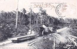 Guyane Francaise - SAINT JEAN DU MARONI -  Camp Du Tigre - ( Train - Chemin De Fer ) - Saint Laurent Du Maroni