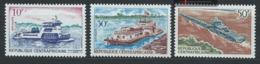 Centrafrique YT 112-114 XX / MNH Bateau Boat Navire Ship - Centrafricaine (République)