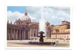VATICAN - S. Pietro E Fontana, Uvachrom # 6232, 192... - Vatikanstadt