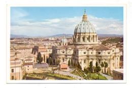 VATICAN - S. Pietro Visto Dall'Osservatorio Vaticano, Uvachrom # 6233, 192... - Vatikanstadt