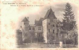 24 BRANTOME PRES PERIGUEUX CHATEAU DE LA HIERCE CARTE PRECURSEUR PAS CIRCULEE - Brantome