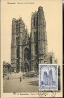 CM Du N° 271  Bxl St-Gudule   Obl  De 1937 - ....-1951