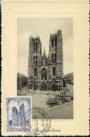 CM Du N° 271  Bxl St-Gudule   Obl  De 1935 - ....-1951