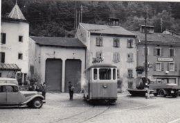 Tram Martigny. Small Photo 9,5 X 6,5 Cm. No Postcard. - VS Valais