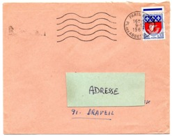 PARIS 67 / Pl. Des ABBESSES (18e) 1967 =  FLAMME SECAP Muette '5 Lignes Ondulées' - Annullamenti Meccanici (pubblicitari)