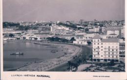 LUANDA - ANGOLA  Avenida Marginal - AFRIQUE AFRIKA POSTCARD - Angola