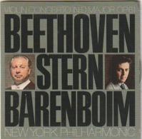 CD Beethoven  Stern Barenboim Violin Concerto In D Major   Etat: TTB Port 90 GR - Classical