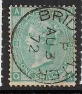 Stanley Gibbons J105(1) - 1 S Vert Foncé Planche 5 - O - Usati
