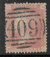 Stanley Gibbons G1 - 1 D Rose-rouge Planche 80 - O - Used Stamps
