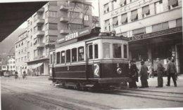 Tram Biel. Small Photo 10 X 6 Cm. No Postcard. - BE Berne
