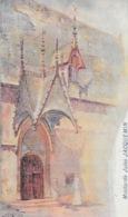 Publicité Moutarde Jules Jacquemin - E. Bouilly Fabricant à Meursault - Illustration Signée: Beaune, Porte Hôtel-Dieu - Pubblicitari