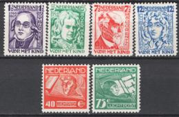 Olanda 1928 Unif.215/18+A4/5 */MH VF/F - Unused Stamps