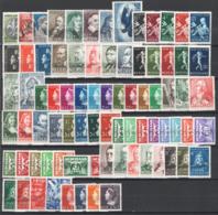 Olanda 1937/46 80 Val. In Serie Complete / In Complete Set */MH VF/F - 1891-1948 (Wilhelmine)