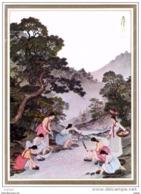 COREE  Girls,washing Clothes On A Mountain Brook. - Korea (Zuid)