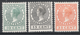 Olanda 1924 Unif.154/56 **/MNH VF/F  Cert.R.Diena - Unused Stamps