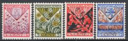 Olanda 1927 Unif.195/98 **/MNH VF/F - Periodo 1891 – 1948 (Wilhelmina)