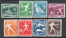 Olanda 1928 Unif.199/206 **/MNH VF/F - Unused Stamps