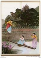 COREE  Korean Traditional Customs'' Seasaw'' - Korea (Zuid)