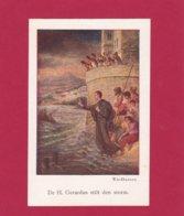 Devotieprent De H. Gerardus Stilt Den Storm - Religion &  Esoterik