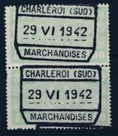 "TR 253 (paar/paire) - ""CHARLEROI (SUD) - MARCHANDISES"" - (ref. 29.639) - Railway"