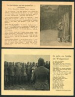 WW2 Germany X4 Army Patriotic Soldat Song Postcards. Lilli Marleen. Spezial Verlag Robert Franke, Hamburg. - War 1939-45