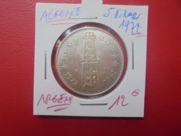 ALGERIE 5 DINARS 1972 ARGENT QUALITE !!! (A.1) - Algeria