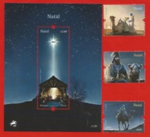 Portugal  2019 , Christmas / Natal / Weihnachten - With LED - Sheet And Set - Postfrisch / MNH / (**) - Nuevos