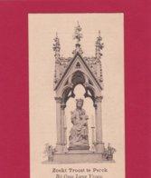 Bedevaartprent O.L.Vrouw Zoekt Troost Te Perck - Religion & Esotericism