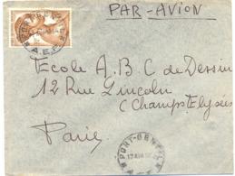 A.E.F. PORT-GENTIL TàD 17 AVR 1954 - A.E.F. (1936-1958)