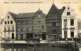 CPA - Belgique - Mechelen - Malines - Anciennes Maisons - Malines
