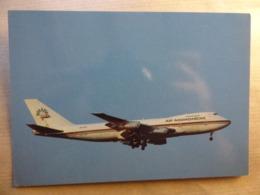 AIR MADAGASCAR  B 747 200   AIRLINE ISSUE / CARTE COMPAGNIE - 1946-....: Era Moderna