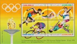 Hong Kong 1992 Olympic Games '92 Minisheet MNH - Nuevos