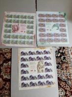 2019 Malaysia Wildlife Conservation Tiger Rhino Bear Elephant Wild Animals Fauna  Set  Sheet Sheetlet 3v Stamp MNH - Malaysia (1964-...)