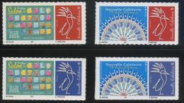 CALEDONIE - Timbres Personnalisés - Année 2019 (adhesifs) - Nueva Caledonia